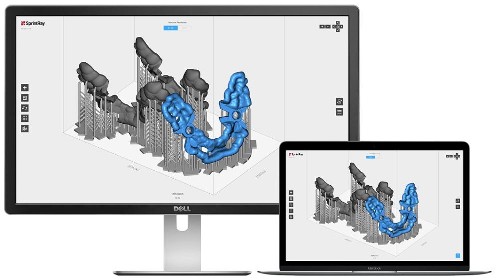 user-friendly 3d printing software for dentistry