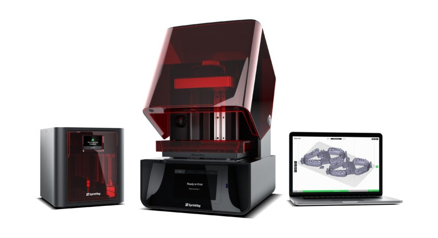 sprintray 3d printing systems