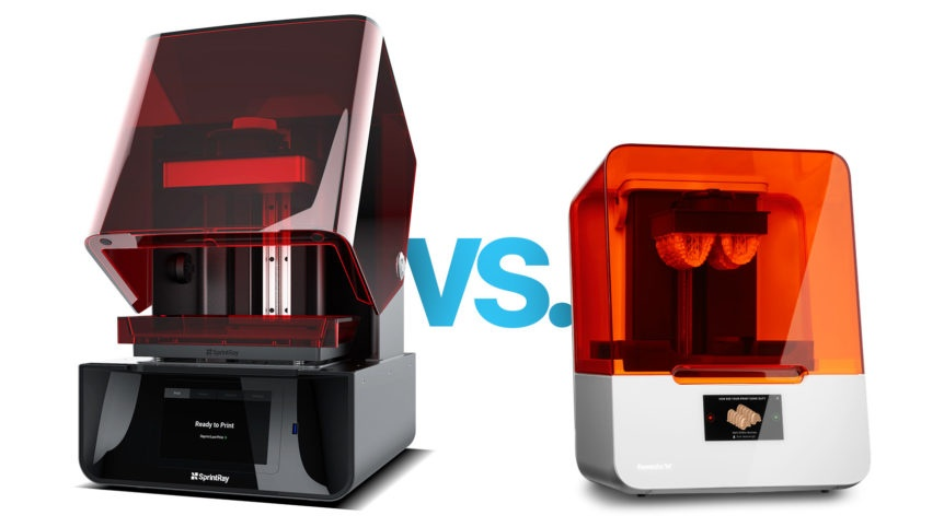 sprintray vs formlabs
